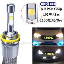 Car LED Headlight Bulb kit CREE H1H3H4H7H11 9005/06/12 4300K 6000K Auto lamp fog