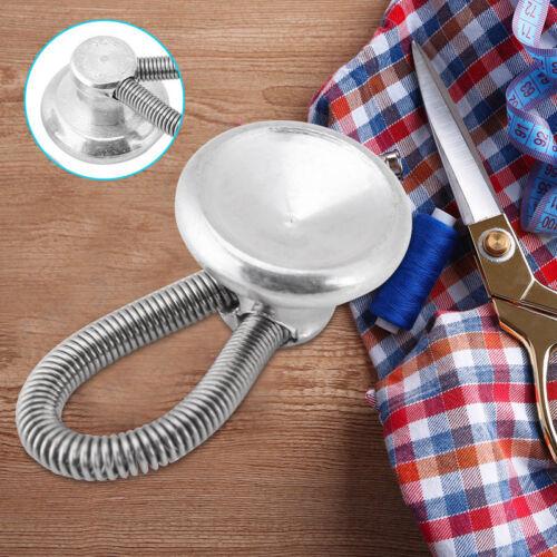 1//6Pcs Extender Button Metal For Jeans Pants Coat Collar Trouser Shirt Neck Tie
