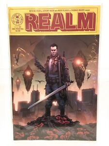 Realm-1-NM-2nd-Print-Image-Comics-2017