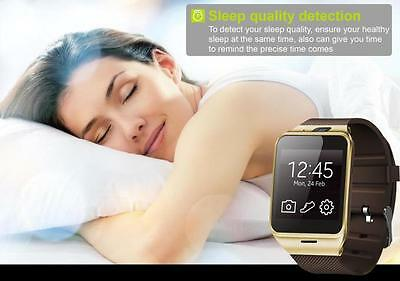 NEW Bluetooth Smart Watch phone GSM NFC Camera Waterproof wristwatch for  iPhone