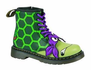 f88a955bda1 Dr Martens chaussures pour enfants 8 trous DELANEY Donnie J D. vert ...