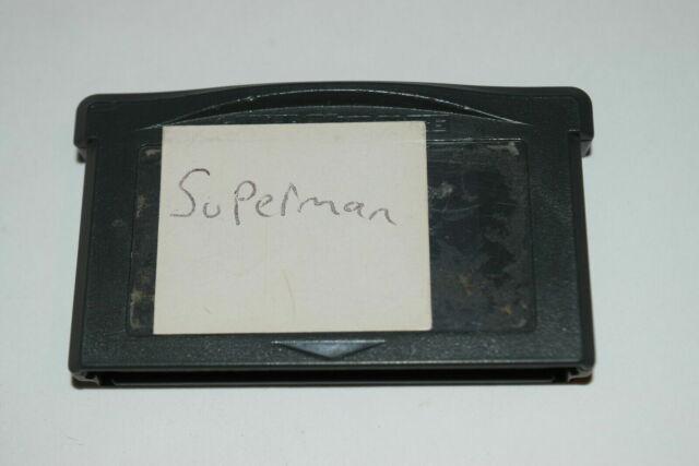 Superman Countdown to Apokolips Nintendo Game Boy Advance Video Game Cart