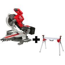 Miter Saw Stand Dual Bevel Sliding 10 In Brushless Cordless Electric Brake 18 V