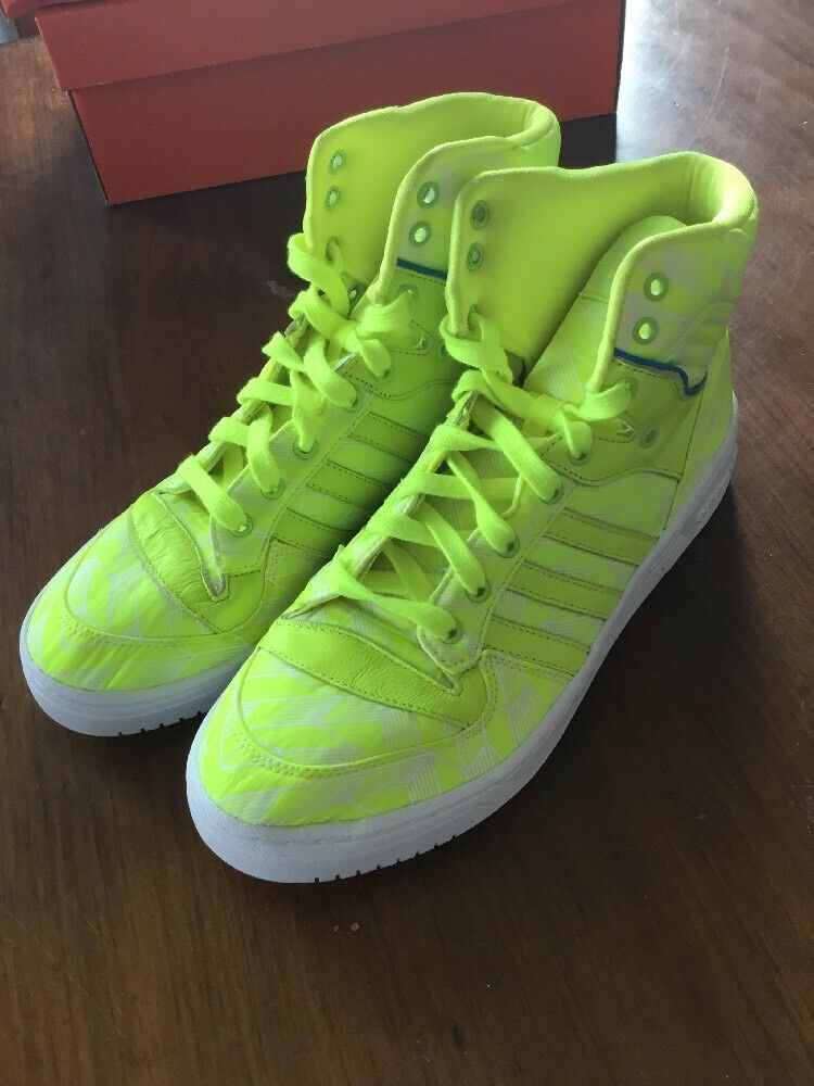 Adidas Rivalry Hi shoes Sneakers New D65195 Size 10
