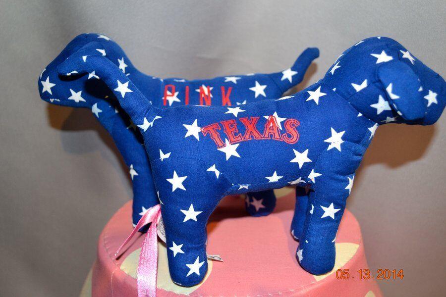 Selten victorias geheimnis Rosa mlb texas rangers mini - hund 28 gemeinden