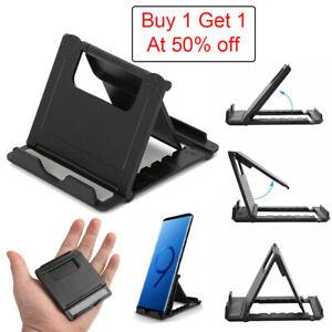 Universal Adjustable iPad Tablet Stand Desktop Holder Mount Cell Phone iPhone LG