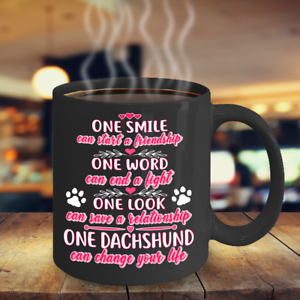 Dachshund Gift Dachshund Can Change Your Life Mug Doxie Dog Mug Dachshund Mug