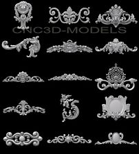 3D Model STL for CNC Router Engraver Carving Artcam Aspire Collection 914