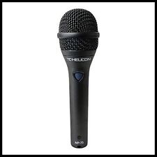 TC Helicon MP-75  Dynamic Handheld Microphone Performance effects control mic