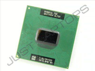 Original Intel Pentium M 1.86ghz Prozessor Cpu Für Fujitsu Siemens Amilo Pro V3515