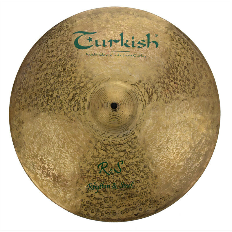 TURKISH CYMBALS cymbale R&S Rhythm & Soul  16  Crash 960g