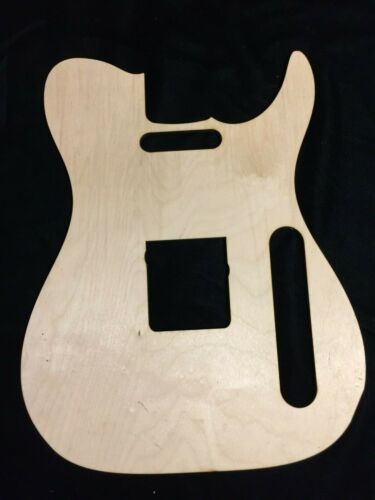 Wood Guitar Top Tele Telecaster Project Craft Plate Sign Walla Guitar Company