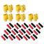 10-Stueck-5-Paar-XT60-Nylon-ESC-Lipo-Akku-Stecker-Buchse-Schrumpfschlauch-60A Indexbild 2