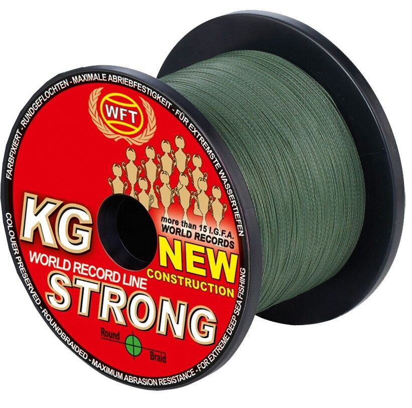 (  1m) WFT KG KG KG STRONG geflochtene Schnur 600m 0,25mm 39kg, Meeresschnur 1839d1