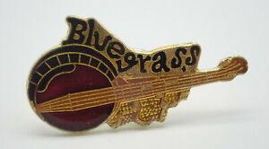 Bluegrass Banjo Vintage Lapel Pin