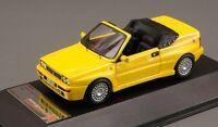Lancia Delta Integrale Cabrio, Yellow 1992 Cars, Premium-x Pr0198 Resin 1/43