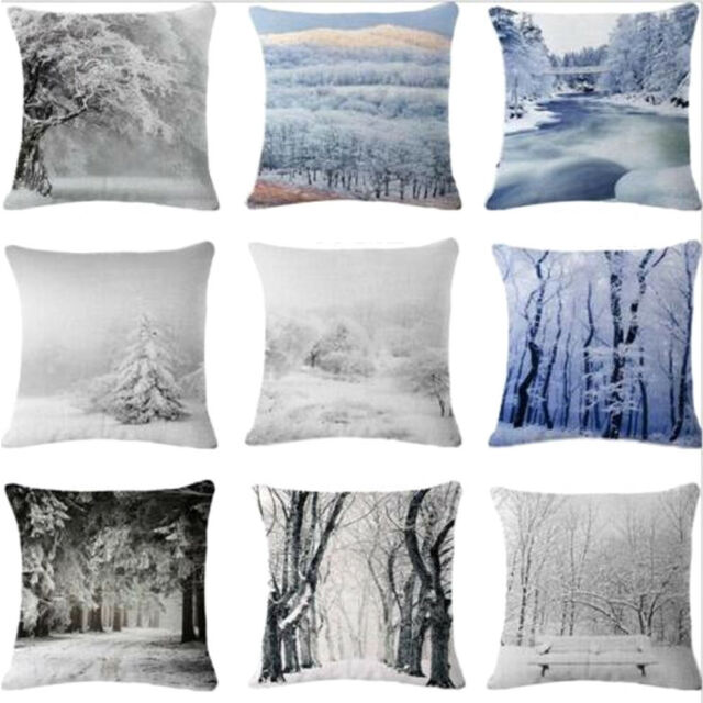 Square cushion cover the snow queen ref 06 with forename
