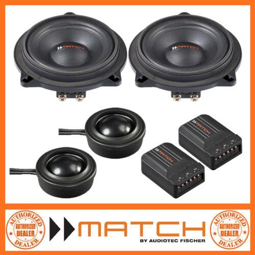 "Match MS 42C-BMW.1 BMW X1 4/"" 10cm 2-Way Component Car Speakers"