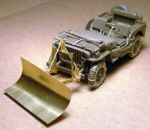 WWII Jeep Willys MB snow plow w// tyre chains For TAMIYA 1//35 Voyager PEA185 U.S