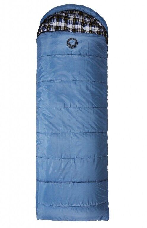 Grand Canyon Schlafsack Utah 195 Deckenschlafsack blau 195 x 80cm Flanell Decke
