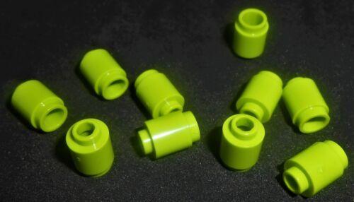 LEGO 1x1 Round Bricks Lime Green---Lot of 10