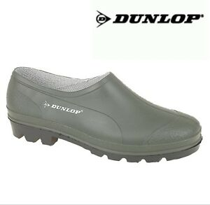 Green Gardening Clogs Welly Shoes Size