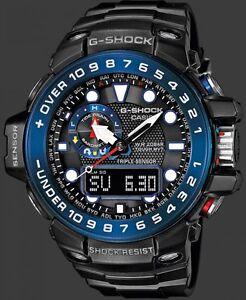 Casio-G-Shock-Gulfmaster-GWN-1000B-1BER-Triple-Sensor-Solar-Radio-Controlled