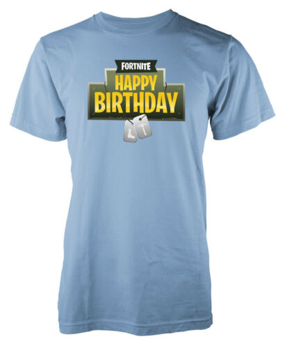 Gaming Happy Birthday Battle Royale Tag Kids T Shirt