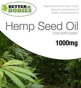 Olio-Hempseed-1000mg-Omega-3-6-9-tocoferolo-60-120-180-Capsule-meglio-Organismi