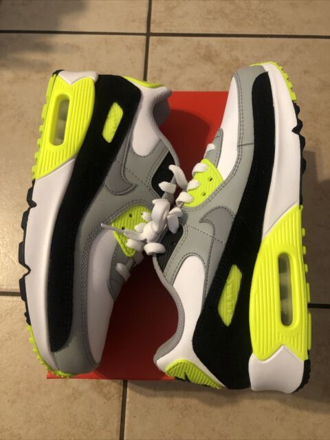 Nike Air Max 90 OG Volt 2020 Style # Cd6864-101 Size 5y for sale ...