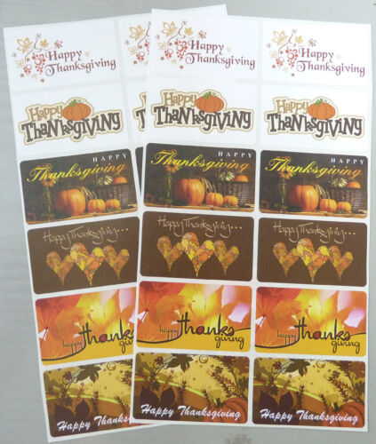 Envelopes Thanks5230 Thanks Giving Greeting Stickers Labels for Cards