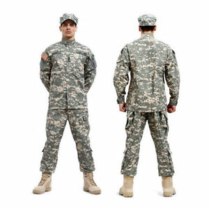 New-ACU-Painball-Military-Camo-Camouflage-Suit-Airsoft-Uniform-Sets-Jacket-Pant
