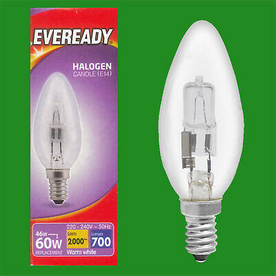 10x 25W Clear Bent Tip Candle Dimmable Light Bulb SES E14 Edison Screw Lamp