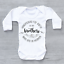 miniature 2 - Hand Picked For Earth By My Brothers In Heaven Circle Unisex Baby Grow Bodysuit