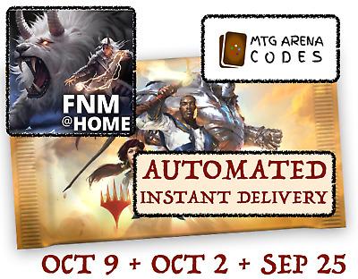 MAGIC MTGA MTG Arena Code FNM Home Promo Pack SEPT SEPTEMBER 25INSTANT EMAIL!