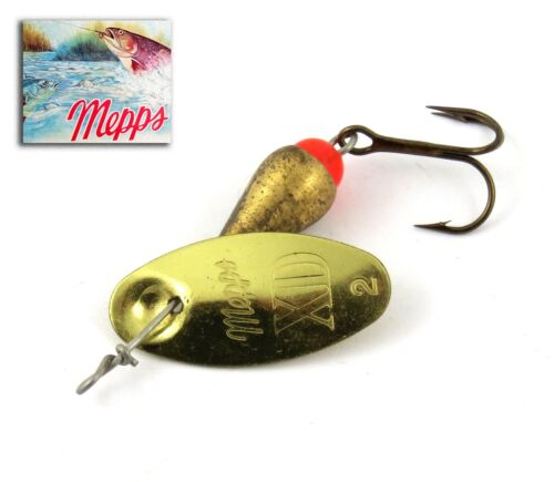 Spoon mepps xd gold t 2 50 mm 5 grs french trout spinner