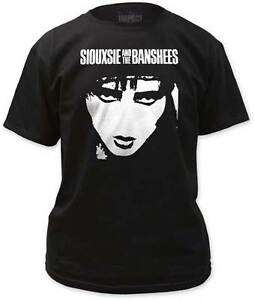 SIOUXSIE-AND-THE-BANSHEES-Face-T-SHIRT-S-2XL-New-Official-Impact-Merchandise