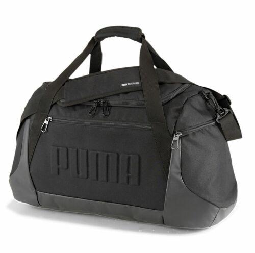 PUMA Gym Duffle M Sporttasche Schultertasche Tasche Puma Black Schwarz Neu
