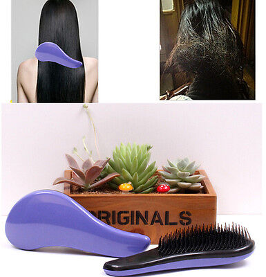 Magic Handle Tangle Detangling Comb Shower Hair Brush Salon  Styling Tamer TIAU