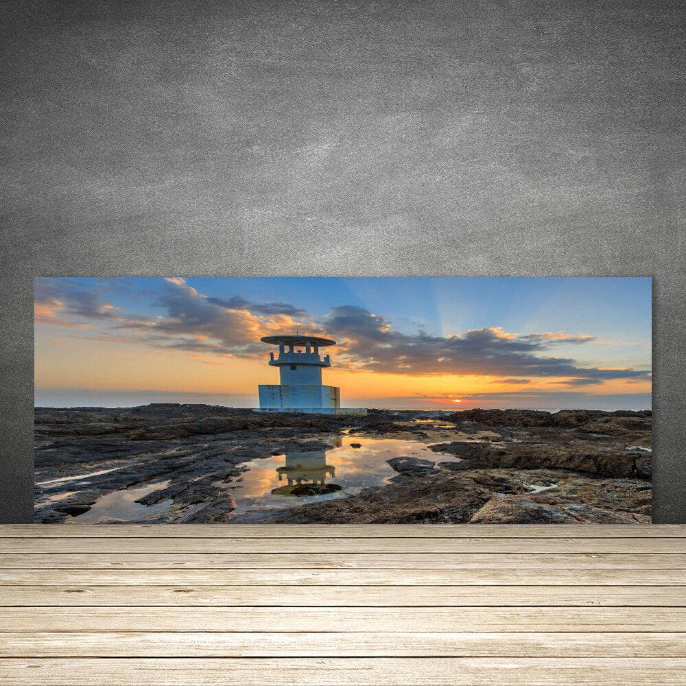crédence cuisine de cuisine crédence en verre panneau 125x50 paysage