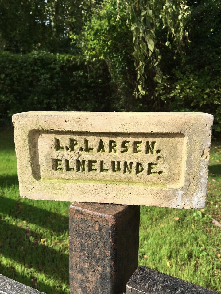 Unik/antik håndlavet mursten , Bornholm 5 HOF/Elmelunde