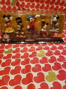Mickey True Original Thru The Years 90th Special Edition Collectible Figure Set