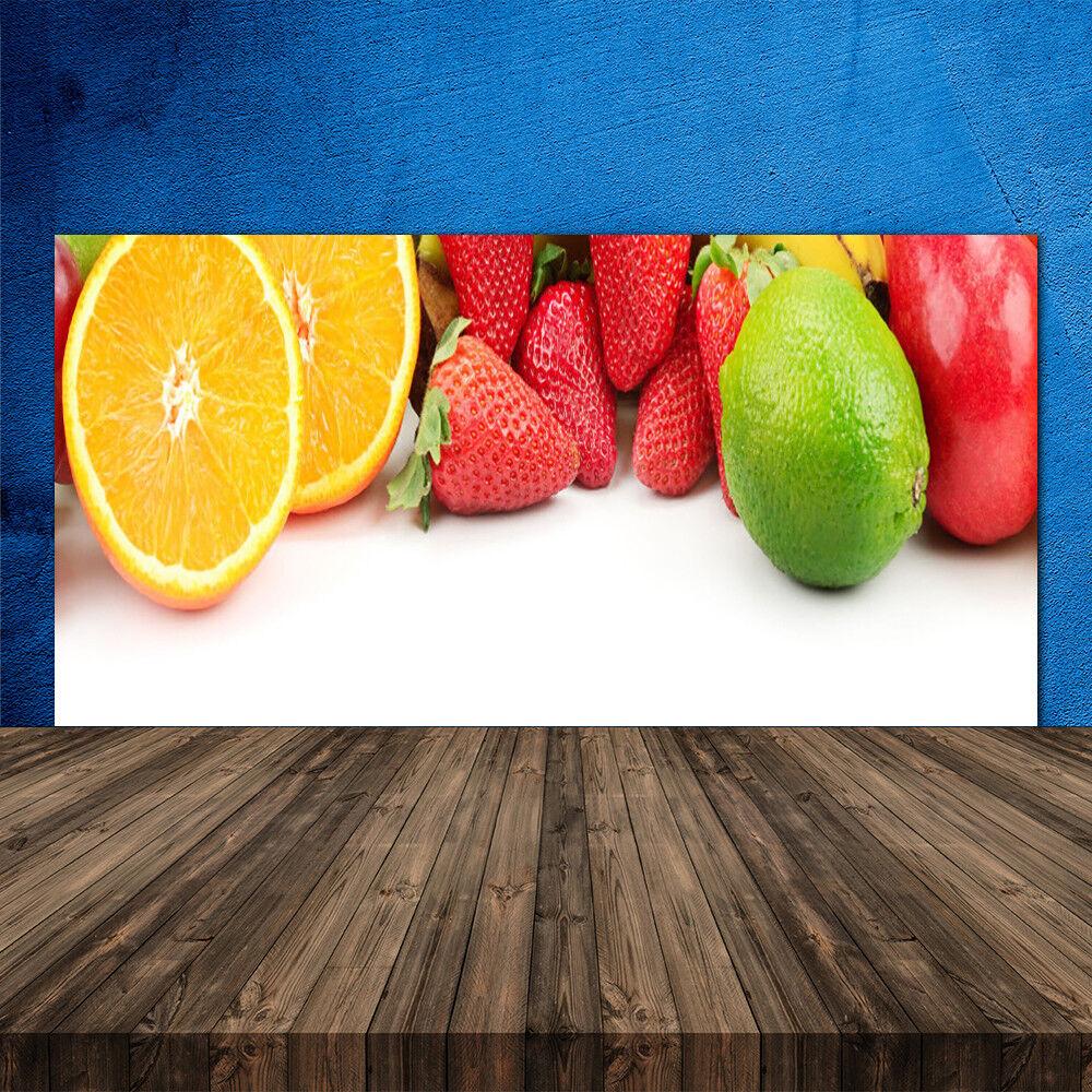 Crédence de cuisine en verre Panneau 120x60 Cuisine Fruits