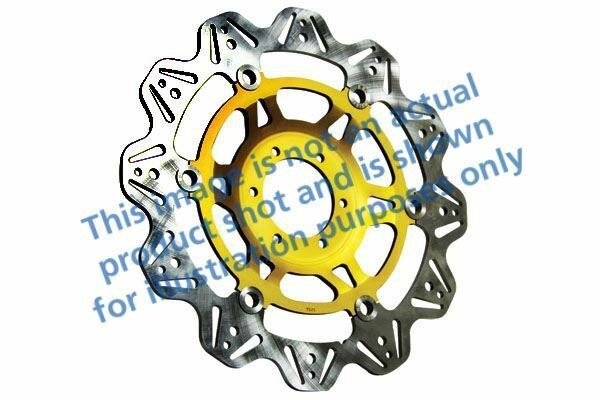 FIT TRIUMPH Speed Triple T509 - (EF 97>98 EBC VR Brake Disc Gold Hub Front Left