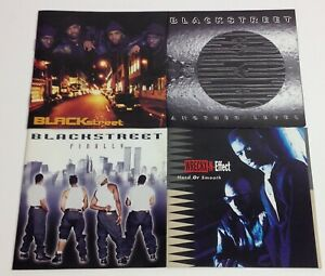 Blackstreet/Wreckx-N-Effect: 4 CD Lot - BS/Another Level/Finally/Hard Or Smooth