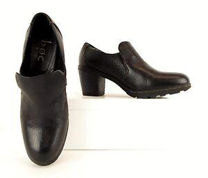 Casual cuir Chaussures 9 40 noirs Boc 5 Talons en Bottillons Bøc Børn M Escarpins Born H2EDI9