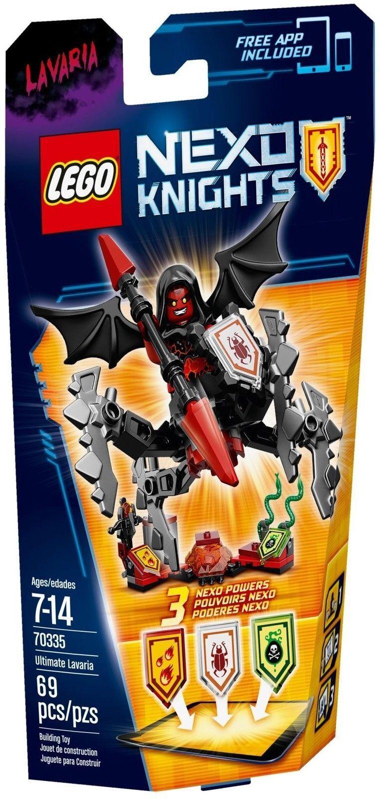 Lego Nexo Chevaliers Chevaliers Chevaliers 70335 Ultime Toujours Neuf / Emballage D'Origine | Excellent (dans) La Qualité  e66c45