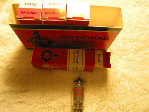 1 piece National 12AU6 Audio Radio Tubes Tested