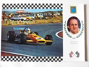 OLD-CARD-GRAND-PRIX-FORMULA-1-GP-DENNY-HULME-McLAREN-FORD-F1