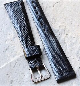 Genuine-Karung-Snake-textured-vintage-watch-band-19mm-rare-buckle-style-3-sold